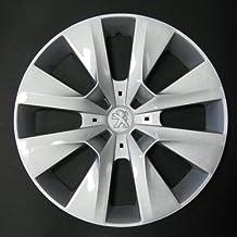 Wheeltrims Set de 4 embellecedores Peugeot 208 2012> con Llantas Originales de 15