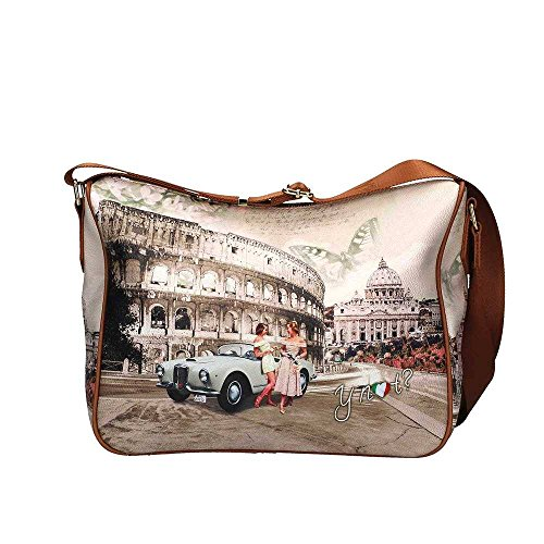 Borsa donna Y Not tracolla Roma life 370 7c41d1c8add