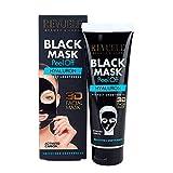 Mascara Facial Peel Off Con Carbon Activo Y Hyaluron 80 Ml.