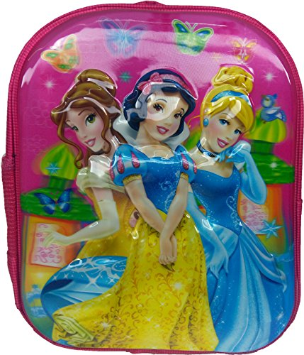 3D Disney Cinderella, Princess, Princesa, Barbie, Pink Children's / kid's Backpack water proof, school bag for class / standard Play School, Pre Nursery, Nursery, KG, UKG, LKG class for boys & girls 8 Liter, 13 Inch. For children ages 2 to 5 years  available at amazon for Rs.549
