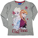 Kinder T-Shirt langarm, Die Eiskönigin,für Mädchen, Frozen, Anna & Elsa Gr.98