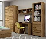 Jugendzimmer Kinderzimmer komplett FOREST Set A Schrank Standregal Schreibtisch Wandregal neu