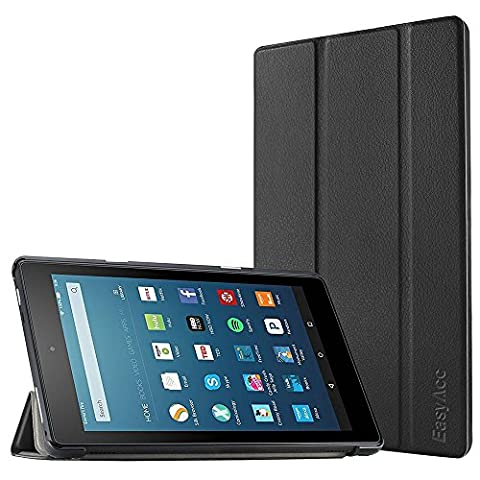 Fire HD 8 Hülle (6. Generation - 2016), EasyAcc Ultra Thin Protective Cover High Quality PU Leather Case - mit Standfunktion für Fire HD 8 2016 (6. Generation)
