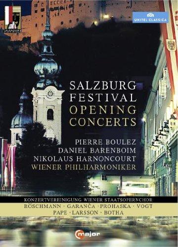 Salzburg Festival Opening Concerts (2008-2011) (4 DVDs) Preisvergleich