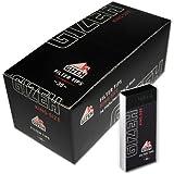 Gizeh 418110043 Black Filter Tips Regular, 24 Heftchen x 35 Blatt