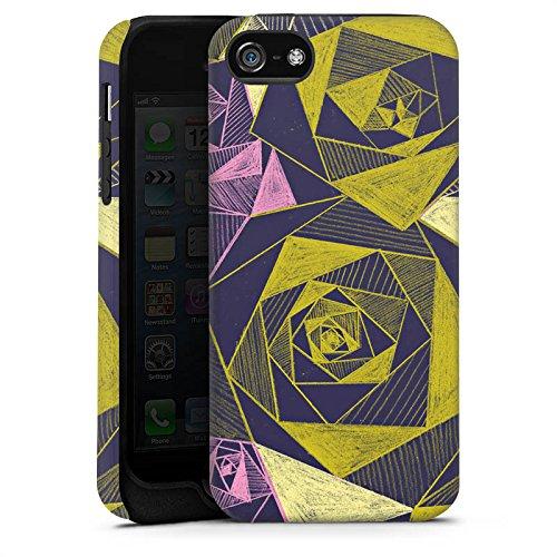 Apple iPhone X Silikon Hülle Case Schutzhülle Rosen Grafik Muster Tough Case matt