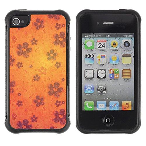 Graphic4You Artist Portrait Design Harte Hülle Case Tasche Schutzhülle für Apple iPhone 4 und 4S Design #16