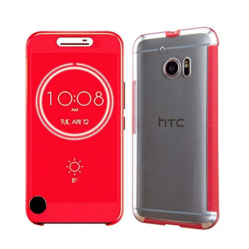 htc-10-ice-view-red-smart-case-wallet-folio-compatible-with-dot-view-apps-ordica-ukr