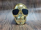 MLL Shantou Bluetooth Lautsprecher Wireless Lautsprecher Geist Kopf Kreative Persönlichkeit Bulldog Körper Big Dog Kopf,Gold,13 * 10 * 13 cm