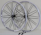 28 Zoll Fahrrad Laufradsatz Trekking XRP II Hohlkammerfelge weiß Messerspeichen schwarz