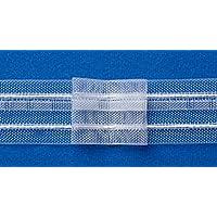 15m Gardinenband Bleistiftfalte 22mm transparent Faltenband Universalband