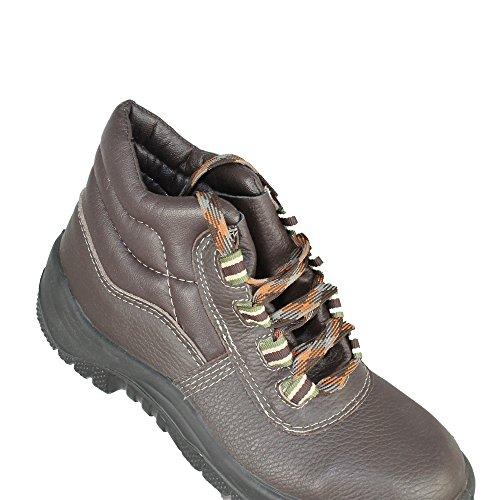 Almar Chaussures de travail O2Oro chaussures de trekking Chaussures de sécurité haute Marron Marron