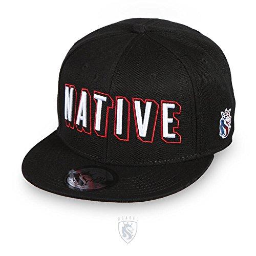 OG Abel OGABEL Men's Native Snapback Hat Black