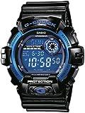 Casio - G-8900A-1ER - G-Shock - Montre Homme - Quartz Digital - Cadran Bleu - Bracelet Résine Noir