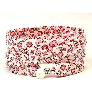 Armband weiß rosa