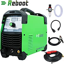 Reboot Plasma Cutter 50Amps 110 / 220V Dual Voltage Compact Metal Cutter AC 1/2