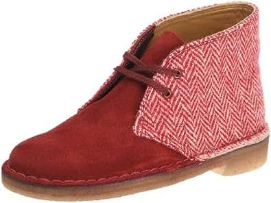 clarks originals desert boot boots femme rouge red cream 37 eu chaussures et sacs. Black Bedroom Furniture Sets. Home Design Ideas