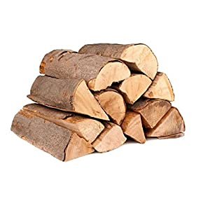 Premium Ash Wood Kiln Dried softwood Logs - Netted Bag for Open Fires, Stoves, Log Burners, Chimineas etc