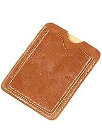 Retro Vintage Herren Leder Brieftasche Schlüsseltasche Fall Portable Geldbörse