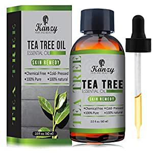 Essential Tea Tree Oil Treatment for Face Hair Nail Acne Lice | Pure Natural VEGAN