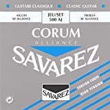 Savarez Saiten für Klassikgitarre Alliance Corum 500AJ Satz High Tension blau