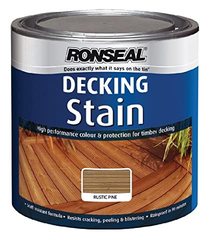 Ronseal DSRP25L 2.5L Decking Stain - Rustic Pine