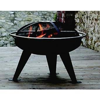 Brasero barbecue design Urban 650 Couleur Noir Matière Acier