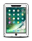 iPad 9.7 2018 Hülle, Love Mei Aluminium Schwerlast Metall Hybrid Draussen Sport Stoßfest Schneefest Schmutzabweisend Solide Case zum New iPad9.7 2017 mit gehärtetem Glas (Weiß)