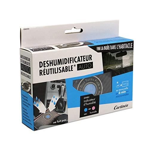 Carlinea 020101 Déshumidificateur de Voiture Réutilisable - Anti-buée