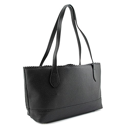 Buco Small Dot Tote Donna Ecopelle Black