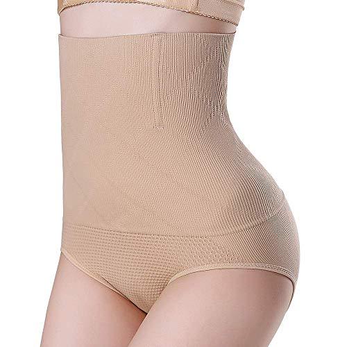 ZLMC Shapewear Für Frauen High Waisted Tummy Control Knickers-Seamless Shapewear Unterwäsche Slips Panties Body Shapers - Teint,M/L (High-waisted Shaper Panty)