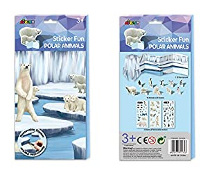 Avenir- Sticker Fun Animales Polares, Color Coloreado (15)