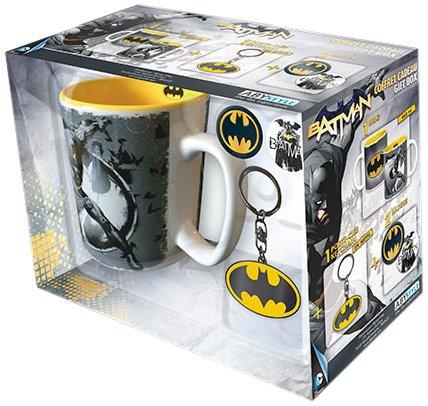 ABYstyle - DC Comics - Coffret Cadeau - Mug + Porte-clés + Badges Batman