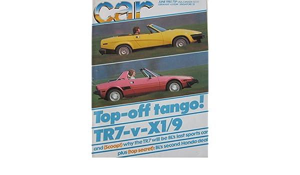 Car Magazine Back Issue 061980 Fiat X19 Triumph Tr7 Mercedes
