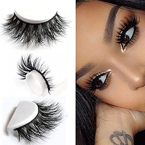 Gemini_mall® 3D Artificial Hair False Eyelashes Natural Thick Eye Lashes
