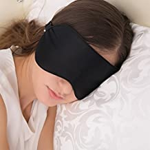 Sleep Mask, JEFlex Natural Silk Blindfold Sleeping Eye Mask with Adjustable Strap