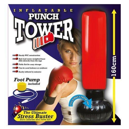 Boxsack, freistehend, aufpumpbar, mit Pumpe Shopmonk
