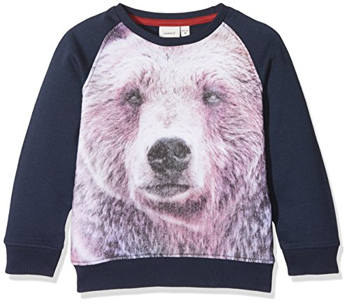 NAME IT Baby-Jungen Sweatshirt Nitfirs Sweat Box M Mini, Blau (Dress Blues), 80 Preisvergleich