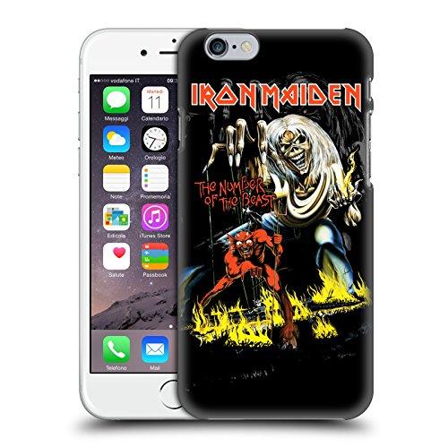 Offizielle Iron Maiden Somewhere Plattencover Ruckseite Hülle für Apple iPhone 6 / 6s NOTB