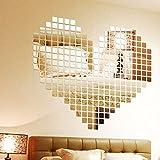 100 stickers miroir mosaïque
