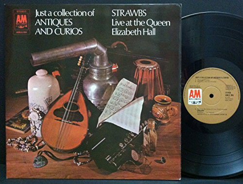 Just A Collection Of Antiques And Curios - Strawbs Live At The Queen Elizabeth Hall LP - DJ White Label -