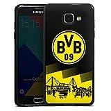 DeinDesign Slim Case Silikon Hülle Ultra Dünn Schutzhülle kompatibel mit Samsung Galaxy A5 Duos 2016 BVB Logo Borussia Dortmu