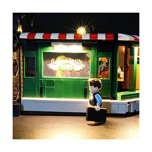LIGHTAILING Set di Luci per (Ideas Friends Central Perk) Modello da Costruire - Kit Luce LED Compatibile con Lego 21319 (Non Incluso nel Modello) 5 spesavip