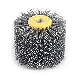 Fdit # 120 Abrasivos Rueda Cepillo Pulidora para Muebles de Madera