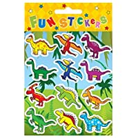 Henbrandt 24 Sheets of 12 Dinosaur STICKERS