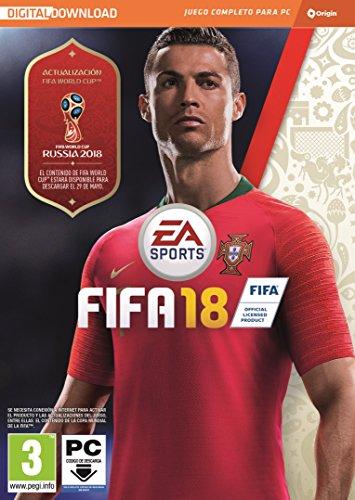 FIFA 18 - Edición estándar (La caja contiene un código de descarga - Origin)