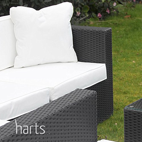 Roe Gardens Outdoor Premium Modular Rattan Corner Sofa Conservatory Garden Patio Furniture