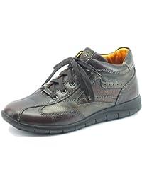 Zen 377039 Brown Fango Noce - Botas de Piel para hombre