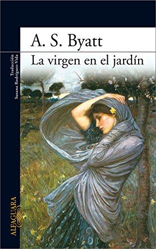 Portada del libro La virgen en el jardín (LITERATURAS)