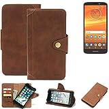 K-S-Trade for Motorola Moto E5 Plus Dual-SIM Wallet Case